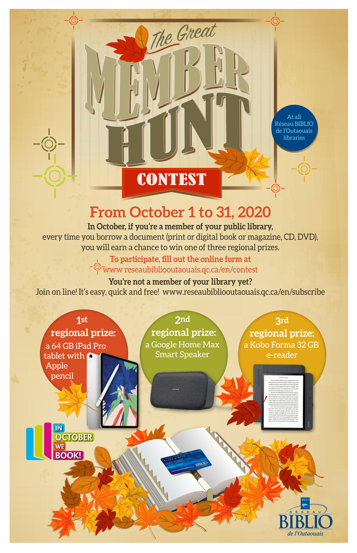 The great member hunt contest